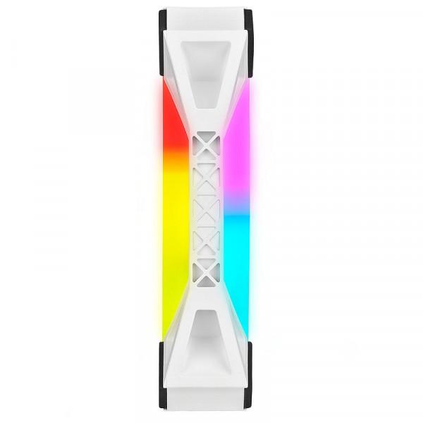 Corsair QL Series QL120 RGB (Par 3) Blanc Refroidissement Corsair, Ultra Pc Gamer Maroc