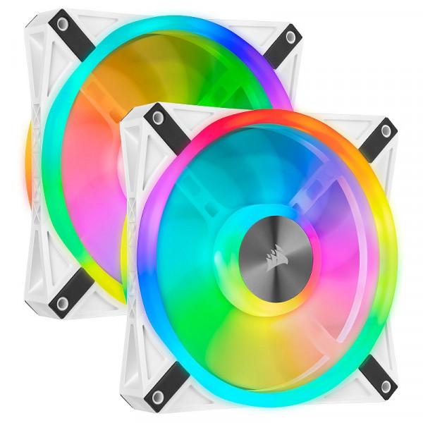 Corsair QL Series QL140 RGB (Par 2) Refroidissement Corsair, Ultra Pc Gamer Maroc