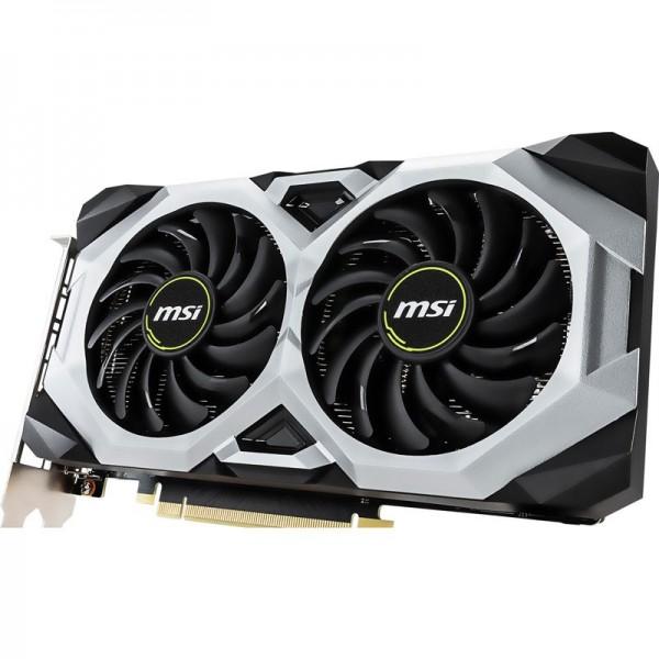 MSI GeForce RTX 2060 VENTUS GP OC 6GB GDDR6 Cartes graphiques MSI, Ultra Pc Gamer Maroc