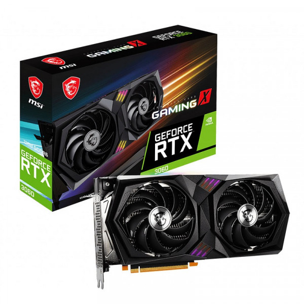 MSI GeForce RTX 3060 Gaming X 12GB GDDR6 Cartes graphiques MSI, Ultra Pc Gamer Maroc
