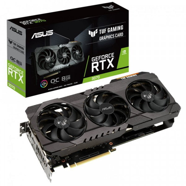 ASUS GeForce RTX 3070 TUF GAMING 8GB GDDR6 Cartes graphiques ASUS, Ultra Pc Gamer Maroc