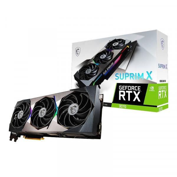 MSI GeForce RTX 3070 SUPRIM X 8GB GDDR6 Cartes graphiques MSI, Ultra Pc Gamer Maroc