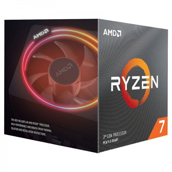 AMD Ryzen 7 3700X Wraith Prism LED RGB (3.6 GHz / 4.4 GHz) BOX Processeurs AMD, Ultra Pc Gamer Maroc