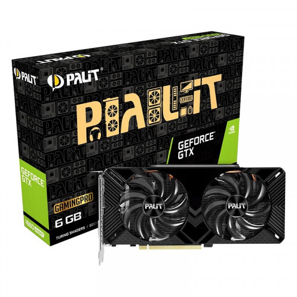 Palit GeForce GTX 1660 SUPER GamingPro 6GB GDDR6 Cartes graphiques Palit, Ultra Pc Gamer Maroc
