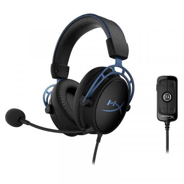 HyperX Cloud Alpha S Blue Casques HyperX, Ultra Pc Gamer Maroc