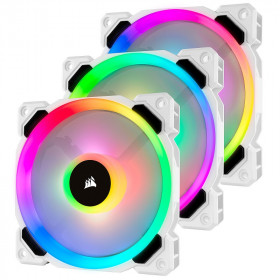 Corsair LL Series LL120 RGB Triple Pack Blanc Refroidissement Corsair, Ultra Pc Gamer Maroc