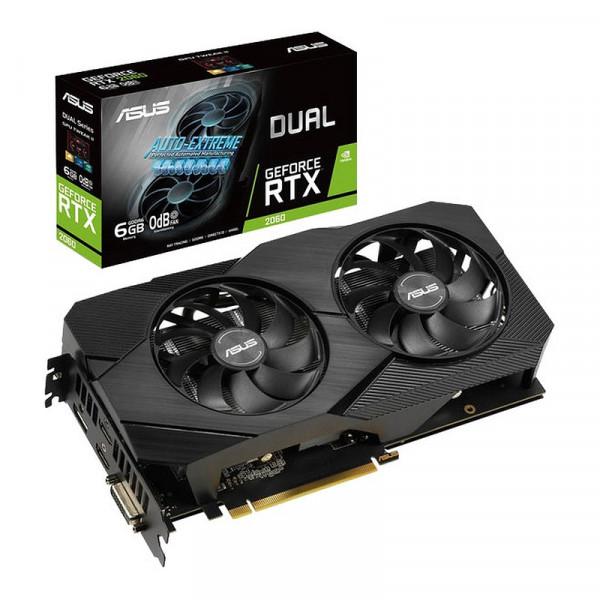 ASUS GeForce RTX 2060 DUAL EVO OC 6GB GDDR6 Cartes graphiques ASUS, Ultra Pc Gamer Maroc