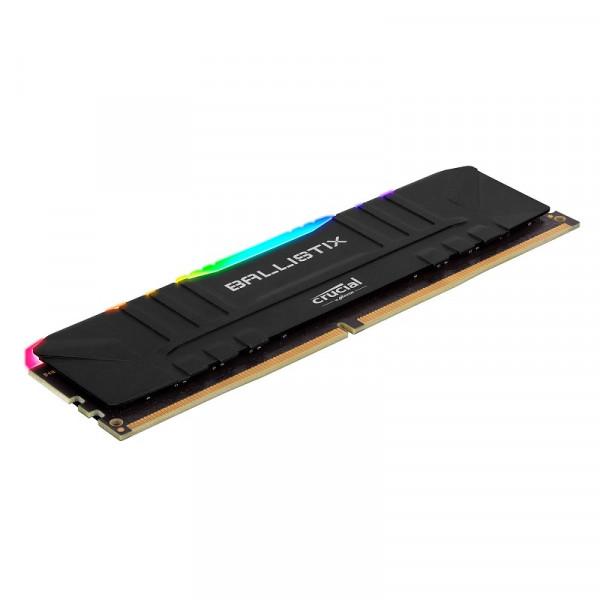 Crucial Ballistix Black 16Go RGB DDR4 3200 MHz CL16 Mémoire vive PC Crucial, Ultra Pc Gamer Maroc