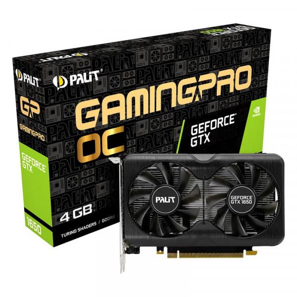 Palit GeForce GTX 1650 GamingPro OC 4GB GDDR6 Cartes graphiques Palit, Ultra Pc Gamer Maroc
