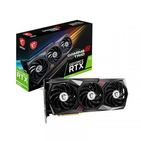 MSI GeForce RTX 3060 Gaming Z Trio 12GB GDDR6 Cartes graphiques MSI, Ultra Pc Gamer Maroc