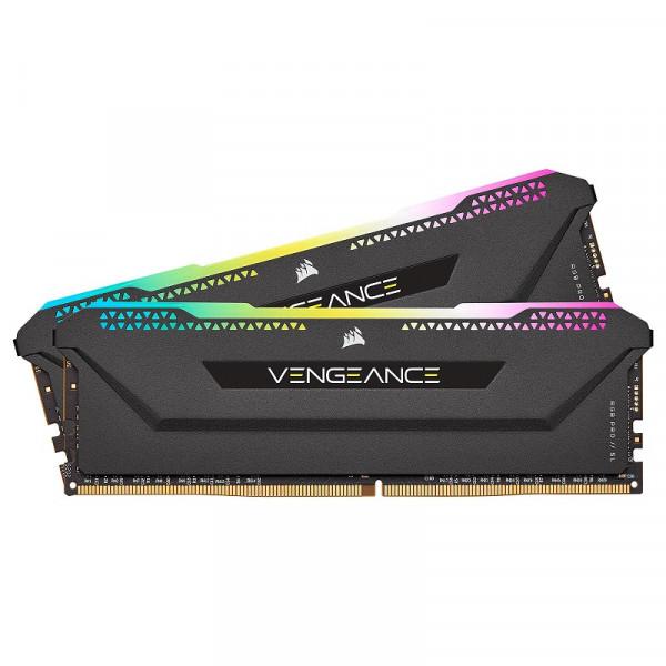 Corsair Vengeance RGB PRO SL Series 32Go (2x 16Go) DDR4 3200 MHz CL16 Mémoire vive PC Corsair, Ultra Pc Gamer Maroc
