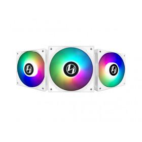 Lian Li ST120 ARGB PWM (Triple Pack) Blanc Ventilateurs boîtier Lian Li, Ultra Pc Gamer Maroc