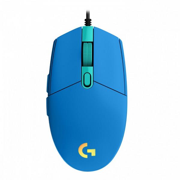 Logitech G G203 LightSync (Bleu) Souris Logitech, Ultra Pc Gamer Maroc