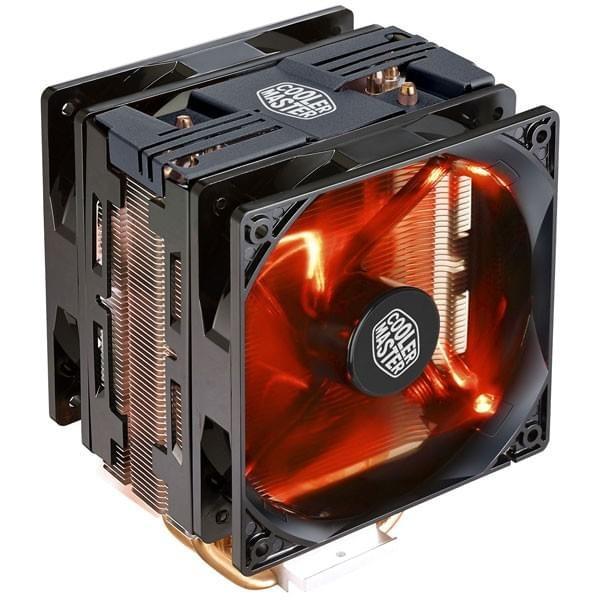 Cooler Master Hyper 212 LED Turbo Noir Refroidissement Cooler Master, Ultra Pc Gamer Maroc