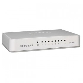 Netgear GS208 Réseau Netgear, Ultra Pc Gamer Maroc