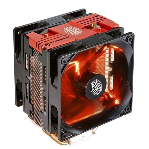 Cooler Master Hyper 212 LED Turbo Rouge Refroidissement Cooler Master, Ultra Pc Gamer Maroc
