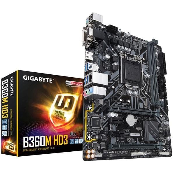Gigabyte B360M HD3 Cartes mères Gigabyte, Ultra Pc Gamer Maroc