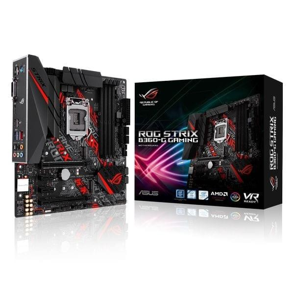Asus ROG STRIX B360-G GAMING Cartes mères ASUS, Ultra Pc Gamer Maroc