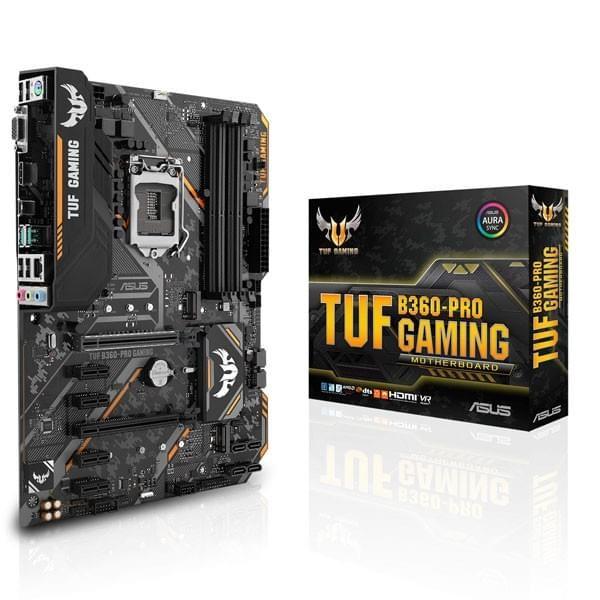 ASUS TUF B360-PRO GAMING Cartes mères ASUS, Ultra Pc Gamer Maroc