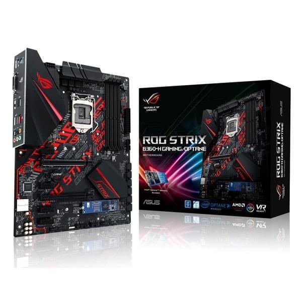 Asus ROG STRIX B360-H GAMING Cartes mères ASUS, Ultra Pc Gamer Maroc
