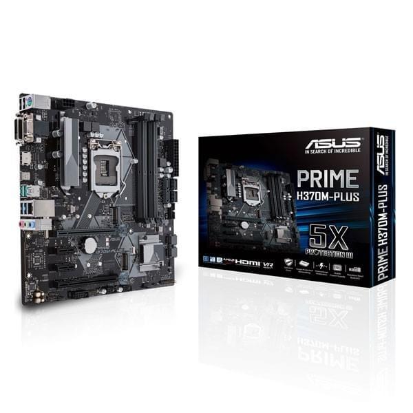 ASUS PRIME H370M-PLUS Composants ASUS, Ultra Pc Gamer Maroc