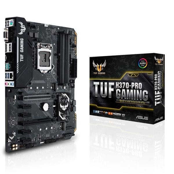 ASUS TUF H370-PRO GAMING Composants ASUS, Ultra Pc Gamer Maroc