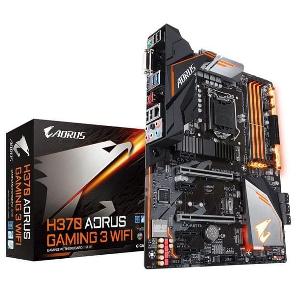 Gigabyte H370 AORUS Gaming 3 WIFI Composants Gigabyte, Ultra Pc Gamer Maroc