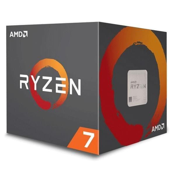 AMD Ryzen 7 2700 Wraith Spire LED (3.2 GHz) Processeurs AMD, Ultra Pc Gamer Maroc
