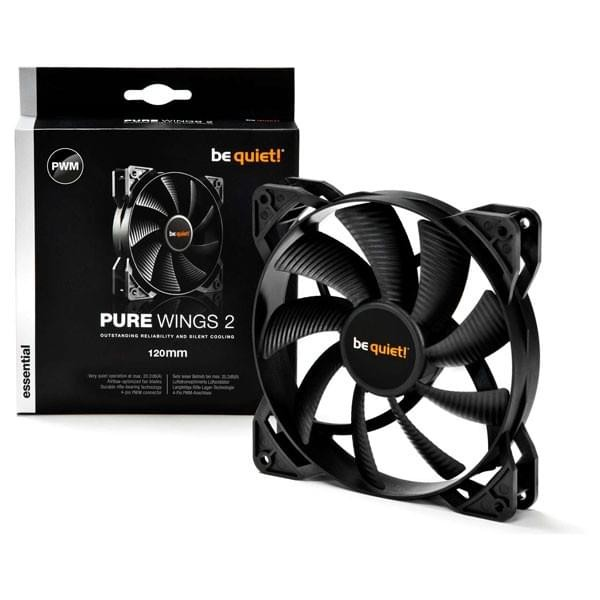 be quiet! Pure Wings 2 120mm PWM Refroidissement be quiet!, Ultra Pc Gamer Maroc