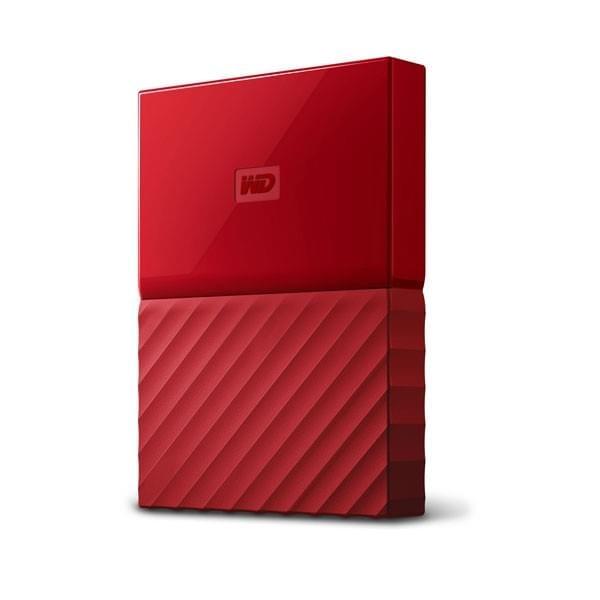 WD My Passport 1TB Rouge (USB 3.0) Disques durs externes Western Digital, Ultra Pc Gamer Maroc