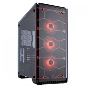 Corsair Crystal 570X Red RGB Boitiers PC Corsair, Ultra Pc Gamer Maroc