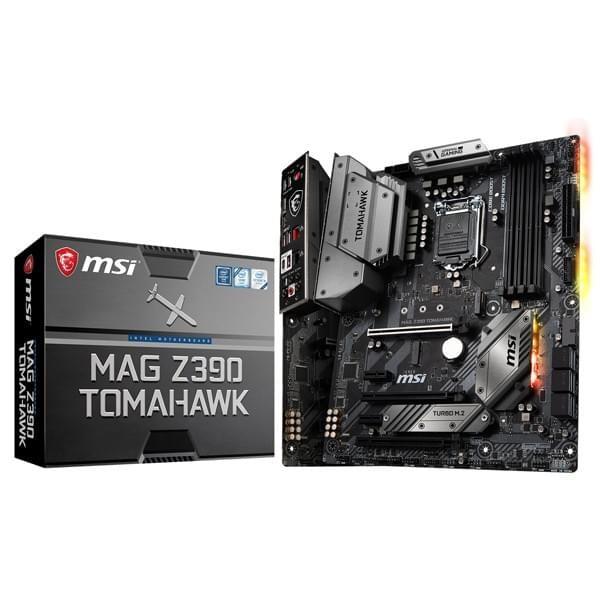 MSI MAG Z390 TOMAHAWK Cartes mères MSI, Ultra Pc Gamer Maroc