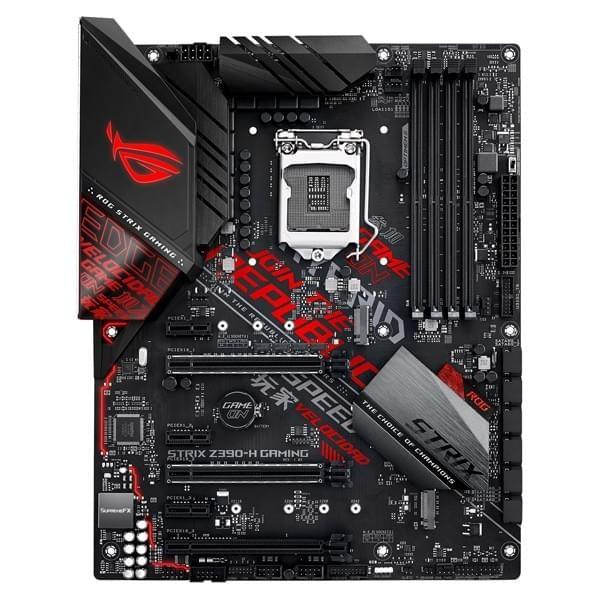ASUS ROG STRIX Z390-H GAMING Cartes mères ASUS, Ultra Pc Gamer Maroc