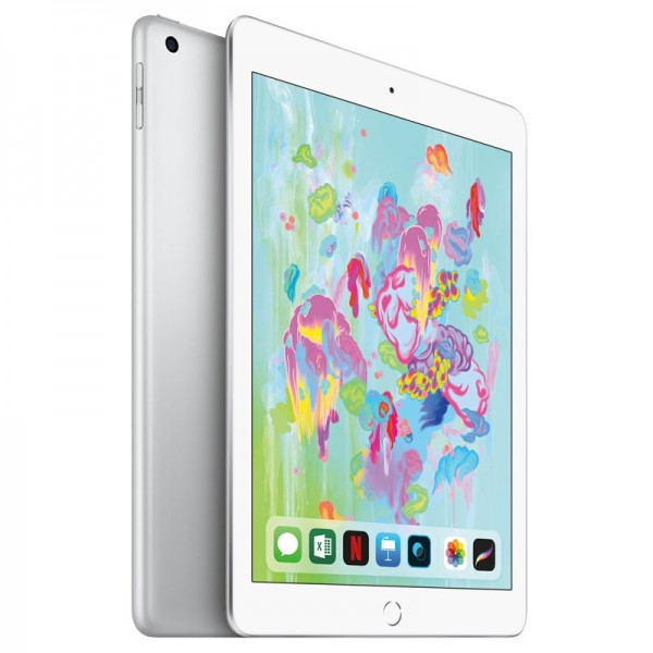 Apple iPad 2018 Wifi + Cellular 32GB Silver iPad Apple, Ultra Pc Gamer Maroc