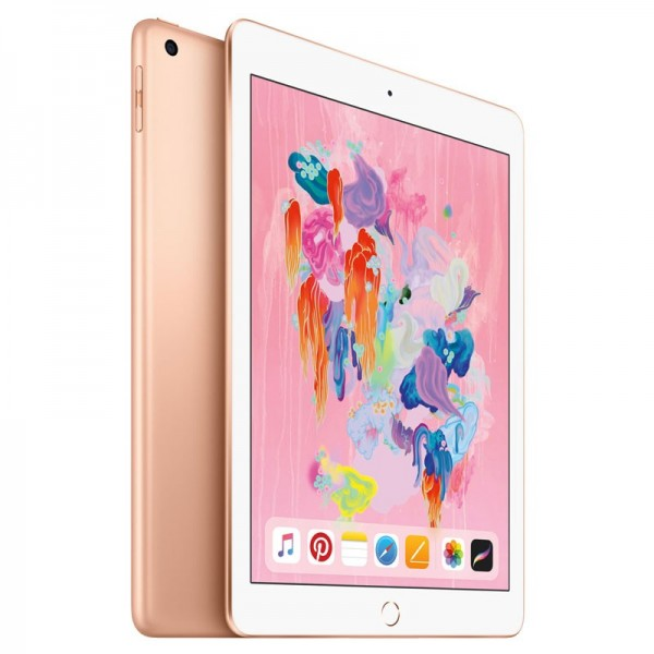 Apple iPad 2018 Wifi + Cellular 128GB Gold iPad Apple, Ultra Pc Gamer Maroc