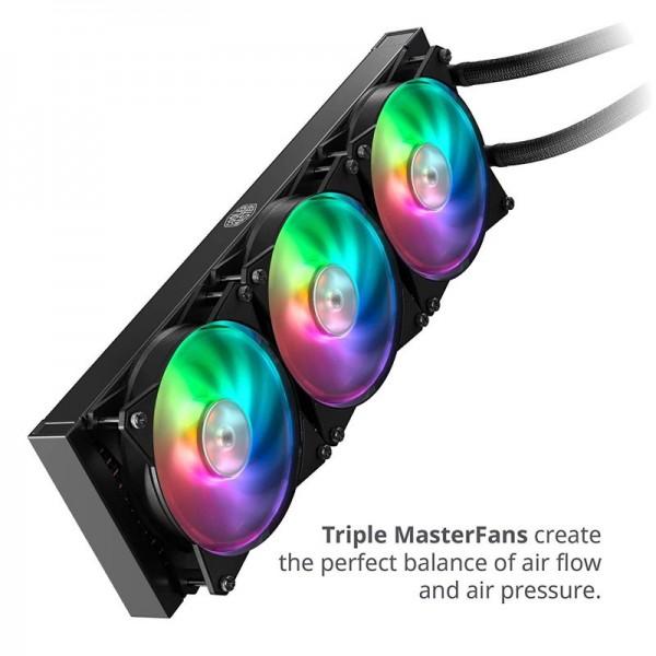 Cooler Master MasterLiquid ML360R RGB Refroidissement Cooler Master, Ultra Pc Gamer Maroc
