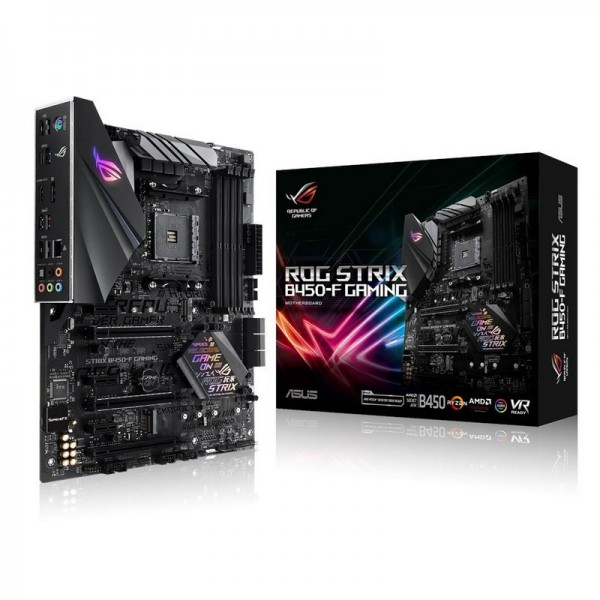 ASUS STRIX B450-F GAMING Cartes mères ASUS, Ultra Pc Gamer Maroc