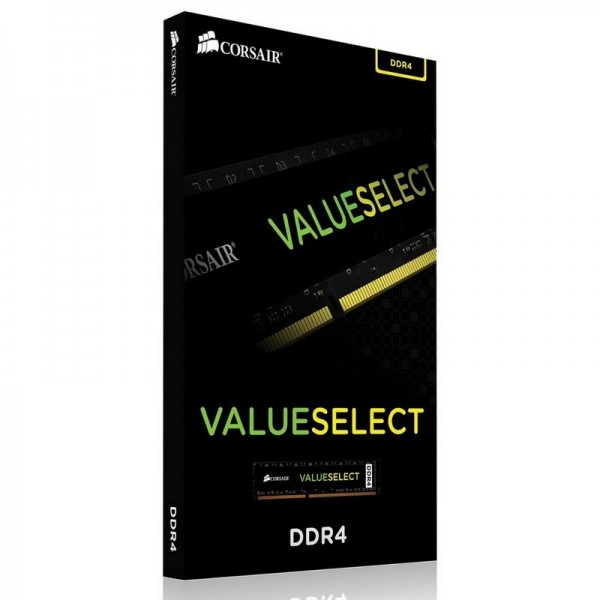 Corsair ValueSelect 4Go DDR4 2400MHz CL16 Mémoire vive PC Corsair, Ultra Pc Gamer Maroc