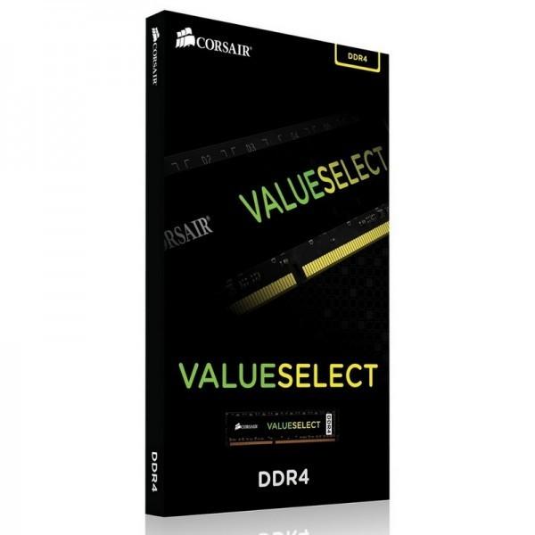 Corsair ValueSelect 4Go DDR4 2133 MHz CL15 Mémoire vive PC Corsair, Ultra Pc Gamer Maroc
