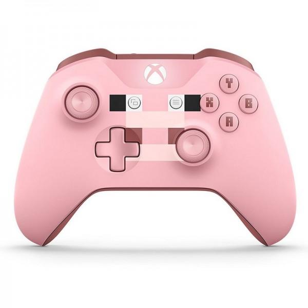 Microsoft Xbox One Wireless Controller Minecraft Pig Périphériques de jeu Microsoft, Ultra Pc Gamer Maroc