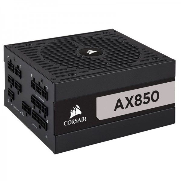 Corsair AX850 80PLUS Titanium 850W Alimentations PC Corsair, Ultra Pc Gamer Maroc