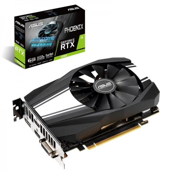 ASUS GeForce RTX 2060 Phoenix 6GB GDDR6 Cartes graphiques ASUS, Ultra Pc Gamer Maroc