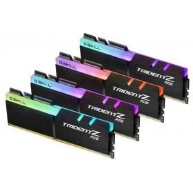 G.Skill Trident Z RGB 32Go (4x 8Go) DDR4 3000 MHz CL16 Mémoire vive PC G.Skill, Ultra Pc Gamer Maroc