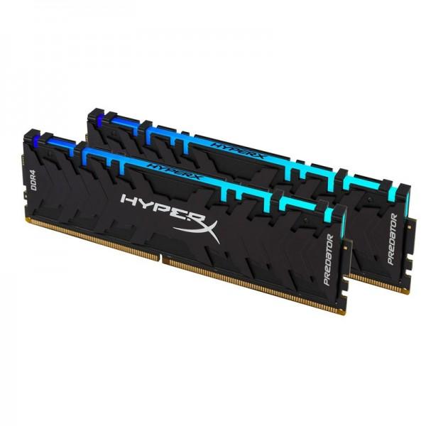 HyperX Predator RGB 16Go (2x 8Go) DDR4 3200 MHz CL16 Mémoire vive PC HyperX, Ultra Pc Gamer Maroc