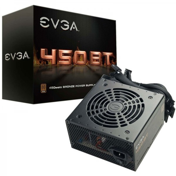 EVGA 450 BT 80PLUS Bronze 450W Alimentations PC EVGA, Ultra Pc Gamer Maroc