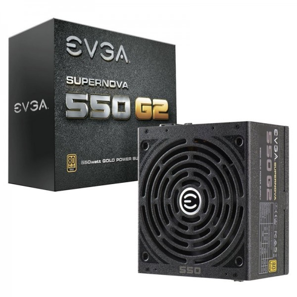 EVGA SuperNOVA 550 G2 80PLUS GOLD 550W Alimentations PC EVGA, Ultra Pc Gamer Maroc