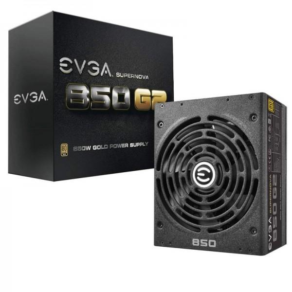 EVGA SuperNOVA 850 G2 80PLUS GOLD 850W Alimentations PC EVGA, Ultra Pc Gamer Maroc