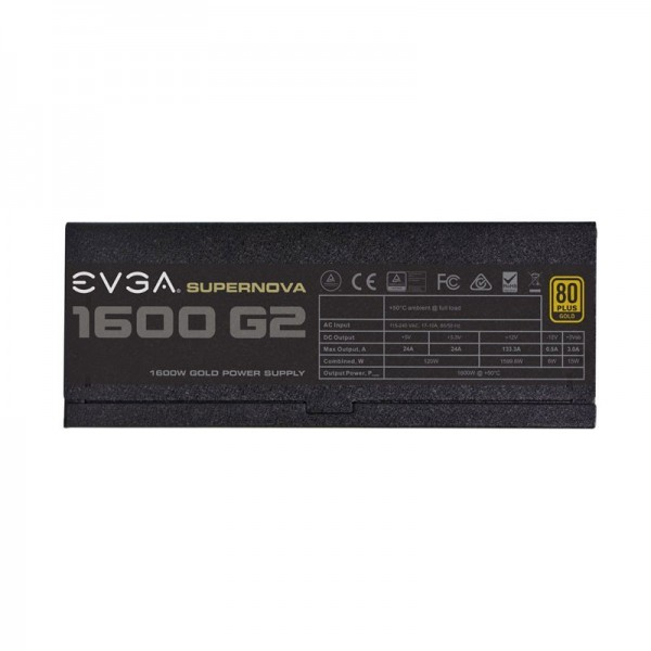 EVGA Supernova 1600 G2 80PLUS Gold 1600W Alimentations PC EVGA, Ultra Pc Gamer Maroc