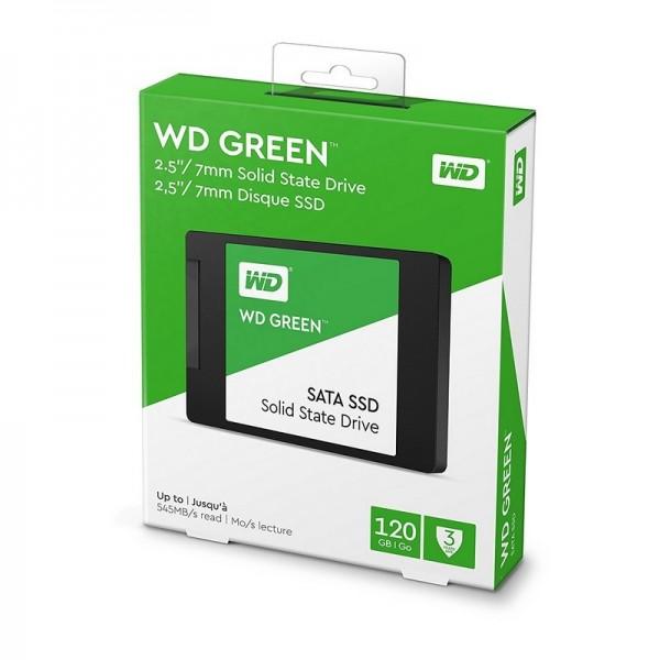 Western Digital WD Green 120GB SATA Disques durs et SSD Western Digital, Ultra Pc Gamer Maroc