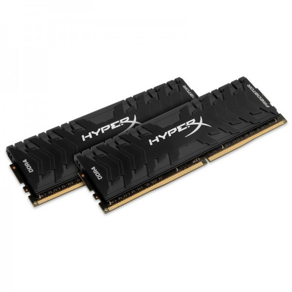 HyperX Predator Noir 16Go (2x 8Go) DDR4 3000 MHz CL15 Mémoire vive PC HyperX, Ultra Pc Gamer Maroc